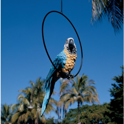17 Exotic Large Tropical Parrot Statue Sculpture Figurine