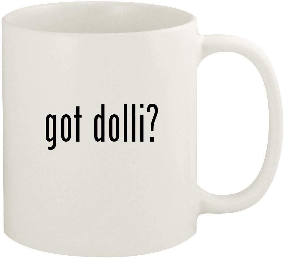 got dolli? - 11oz Ceramic White Coffee Mug Cup, White