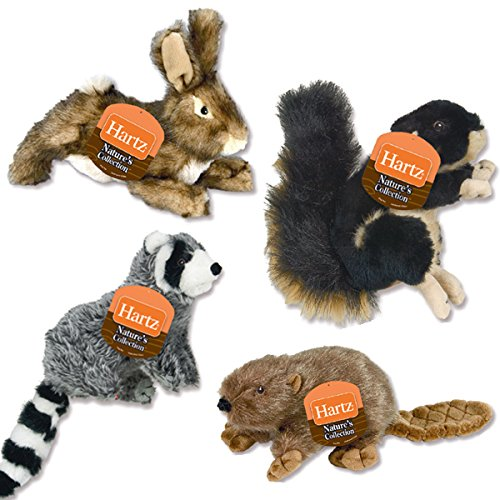 Hartz Nature's Collection Small Plush Dog Toy EACH