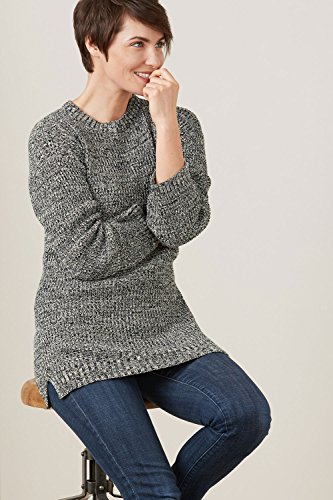 Fair Indigo Fair Trade Organic Drop Shoulder Sweater