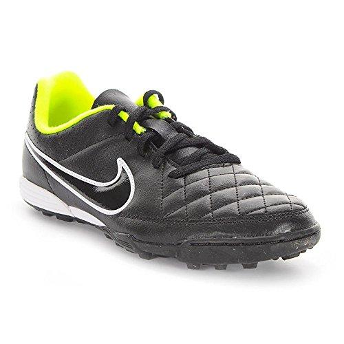 Nike - JR Tiempo Rio II TF - Couleur: Noir - Pointure: 38.5