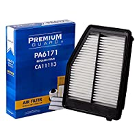PG PA6171 Air Filter | Fits 2013-15 Acura ILX, 2012-15 Honda Civic