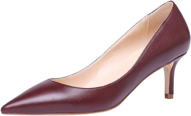 AOOAR Zapatos de tacón para mujer, elegantes