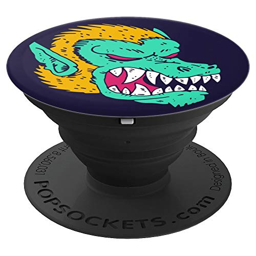 Halloween Werewolf Monster - PopSockets Grip and Stand for Phones and -