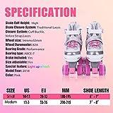Kuxuan Saya Roller Skates Adjustable for
