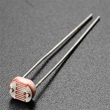 50/ /100/kOhm Ldr 3/mm Series luce-dipendente resistenza Fotoresistenza LXD3548/A//Dark resistenza 5MOHM//luce resistenza