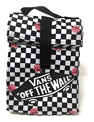 Vans Checkered Party Insulated Roll Top Lunch Sack - Van Box