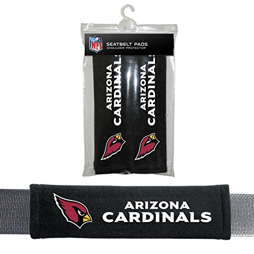 (Fremont Die Arizona Cardinals Velour Seat Belt Pads)
