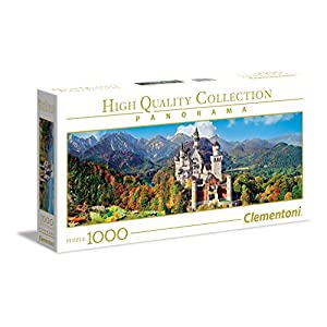 Clementoni Collection Panorama Puzzle Neuschwanstein 1000 Pezzi 39438