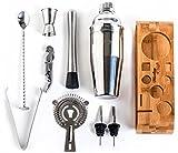 Mixology Bartender Kit: 10-Piece Bar Tool Set with