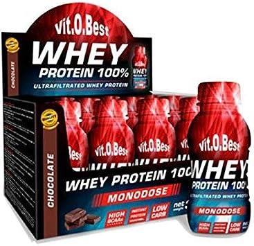 WHEY PROTEIN MONODOSIS 12 Uds./30 g CHOCOLATE - Suplementos ...