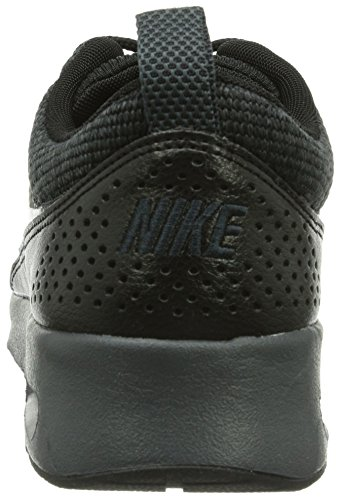 Nike - Zapatillas para mujer Plata plateado negro - negro