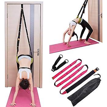 Amazon.com: TOCO FREIDO - Correa de estiramiento para yoga y ...