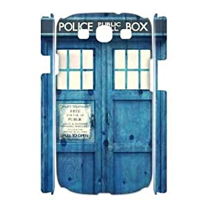 C-EUR Doctor Who TARDIS Police Call Box Customized Hard 3D Case For Samsung Galaxy S3 I9300 by icecream design