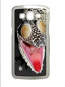 Samsung 2 7106 Case Crazy Gecko Animal PC Custom Samsung 2 7106 Case Cover Transparent