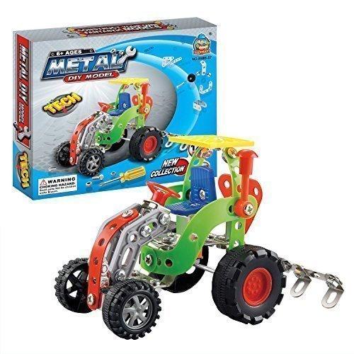 easy-gift-digging-machine-metal-brick-diy-model-construction-set-educational-toy-3d-laser-cut-stainl