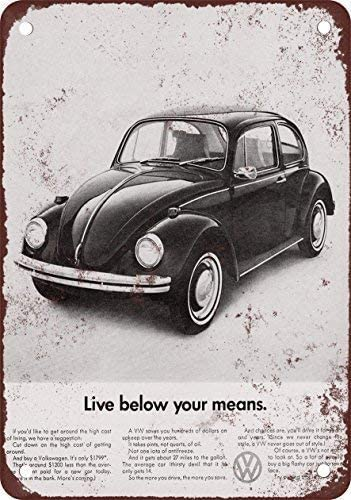 Amazon.com: ABCE 1969 Mini Cooper - Cartel de chapa de ...