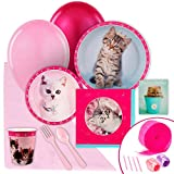 Rachael Hale Glamour Cats Party Supplies - Value Party Pack