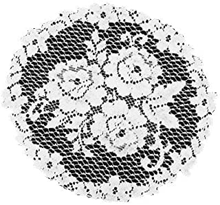 product image for Heritage Lace Victorian Rose 11-Inch Doily, Ecru, Set of 3