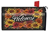 Briarwood Lane Fall Flowers Welcome Large Mailbox Cover Autumn Oversized