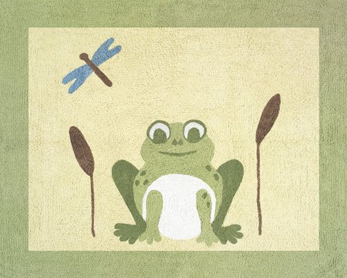 Leap Frog Accent Floor Rug by Sweet Jojo ()