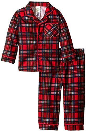 Little Me Baby Boys' Christmas Plaid 2 Piece
