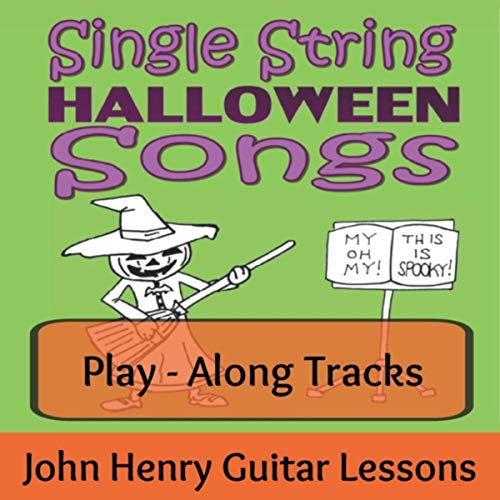 Single String Halloween Songs (Play-Along Tracks) ()