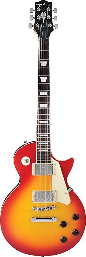 Jay Turser 200 Series Jt-220-cs Electric Guitar, Cherry Sunburst on
