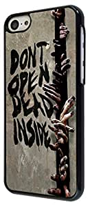 ipod touch 5 ipod touch 5 Scary the Walking Dead Zombie Hand Do not open Designer Trend Hard Back Shell Case Cover Skin