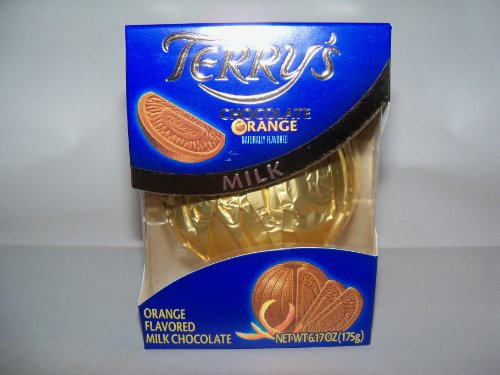 Terrys Milk Chocolate Orange Ball  6.17 Ounce