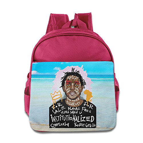 Kendrick Lamar Duckworth Children's School Bag For 1-3 Years Old (2 Colors) Pink