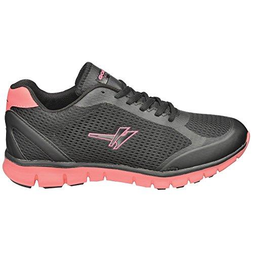 Gola Calera Noir / Rose Femmes Chaussures De Sport