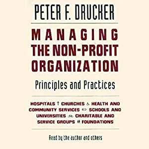 Managing the Non-Profit Organization Audiobook