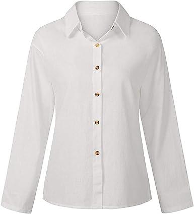 Romacci Camiseta vintage de manga larga para mujer, cuello ...