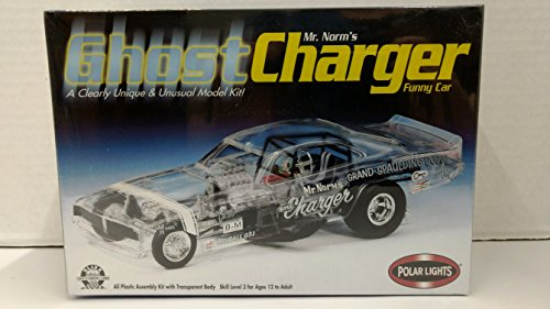 (Polar Lights 6551 Mr. Norm's Ghost Charger Funny Car 1:25 Scale Plastic Model Kit - Requires Assembly)