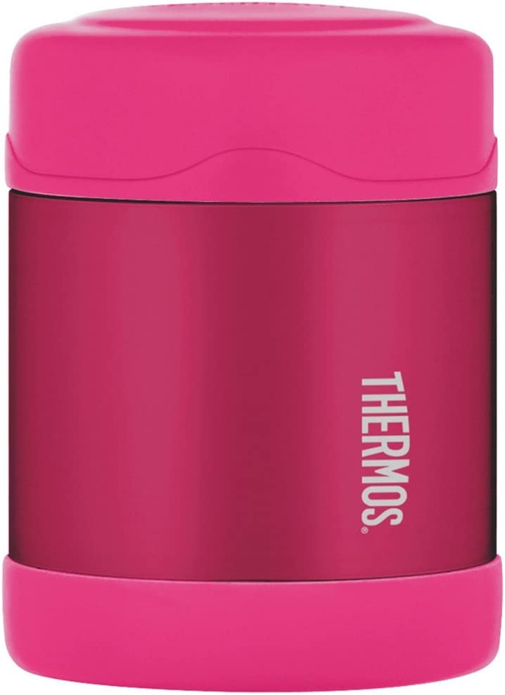 Thermos Funtainer Pink Stainless Steel Vacuum Insulated 10 Ounce Food Jar, Set of 2
