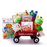 Baby Einstein Playtime Wagon Baby Shower Gift Basket for Newborns