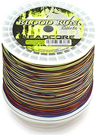 BLOOD RUN TACKLE 7 STRAND STAINLESS TROLLING WIRE 30# 1000/' SPOOL