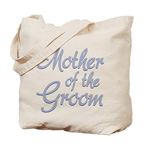 Cafepress–amore madre sposo blu–Borsa di tela naturale, panno shopping bag