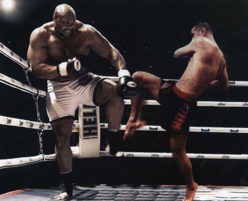 BOB SAPP MMA PRIDE FIGHTER 8X10 SPORTS ACTION PHOTO (S)