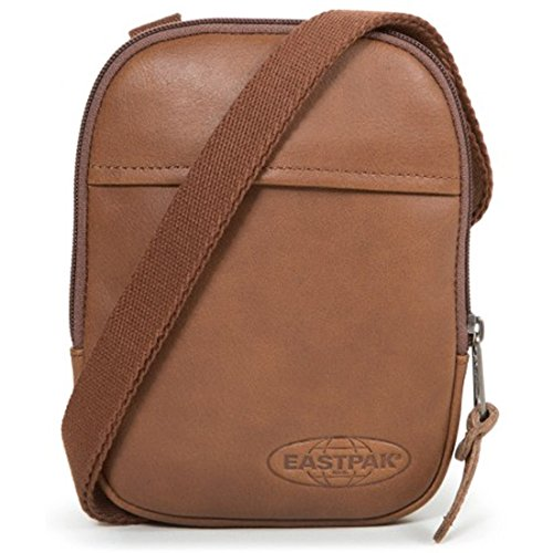 """Eastpak Authentic Collection Buddy """"15"""" bolso bandolera 13 cm superb bleach brownie leather"""