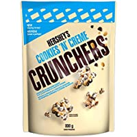 HERSHEY'S CRUNCHERS Chocolate Snack Mix, Cookies n Creme, 800 Gram