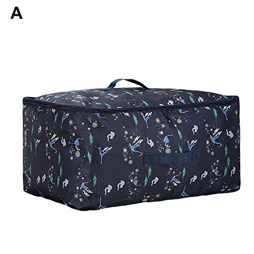angel3292 Hot sale Hand-held Quilt Clothes Storage Bag Organizer Large Capacity Travel (Hot Wheels Comforter)