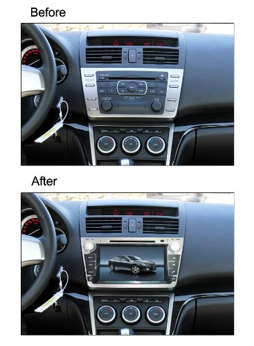Bluelotus In Dash 8 Quot Touchscreen Dvd Gps Navigation For