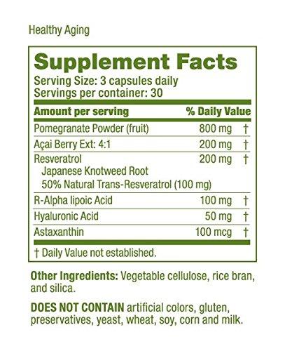 LifeSeasons Healthy Aging Antioxidant Complex - Natural Antioxidant Supplement 90 Capsules Discount