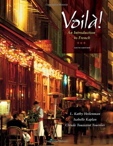 Voila!: An Introduction to French (with Audio CD) (World Languages) by Cengage Learning