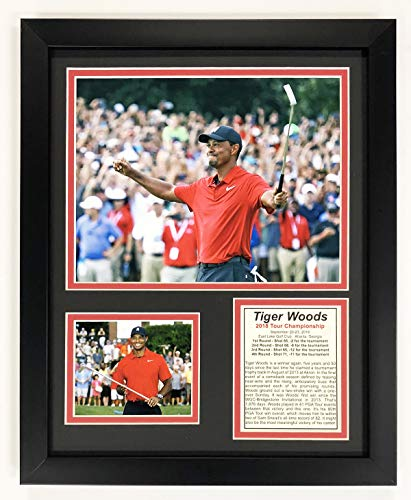 Tiger Woods Framed Pictures - Legends Never Die Tiger Woods - 2018 Tour Championship Winner - Framed 12