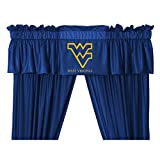 West Virginia Mountaineers NCAA ''Locker Room Collection'' Valance (88''x14'')