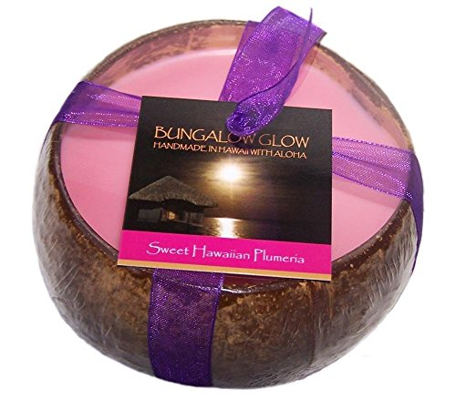Hawaii Bubble Shack Coconut Candle Sweet Plumeria -