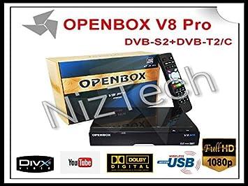 1pc Openbox V8 Pro Combo receptor DVB-S2 y T2 & C V8 receptor de satГ©lite Pro Suppo ...